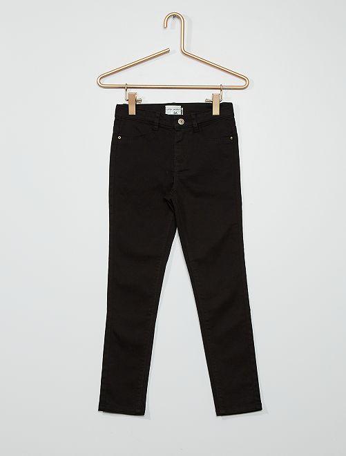 Pantaloni ultra skinny                                                                             nero