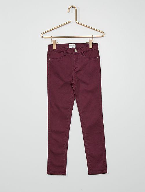 Pantaloni ultra skinny                                                                             prugna