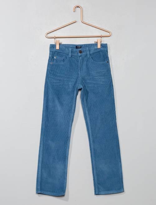 Pantaloni velluto a coste                                                                 BLU Infanzia bambino