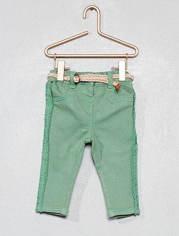 Pantaloni volant + cintura - Kiabi da48f69fcb05