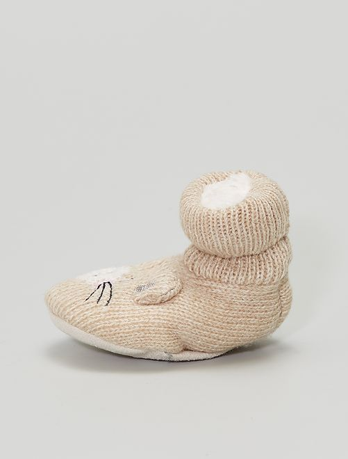 Pantofole a calzino                                         rosa