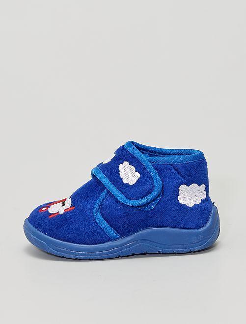 Pantofole 'aerei'                             BLU