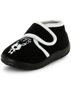 Pantofole alte a strappo 'little hero'