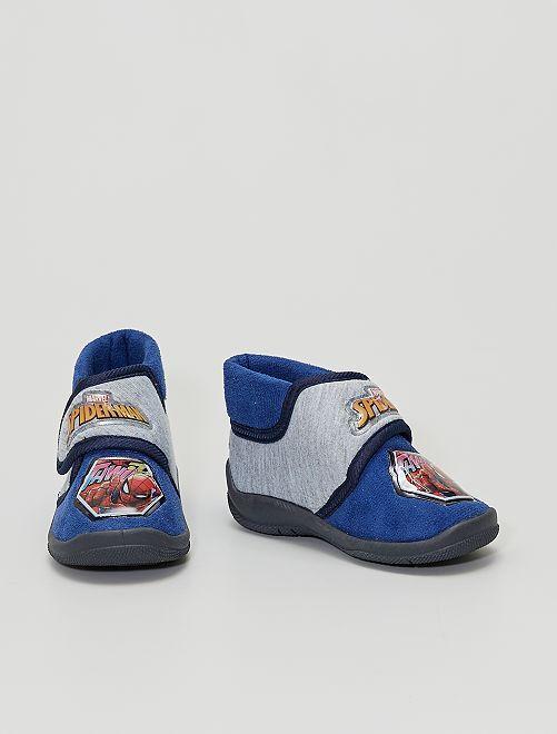 Pantofole alte                                         blu
