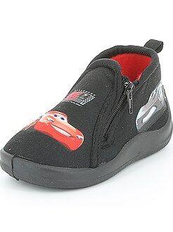 Pantofole alte con zip 'Cars'