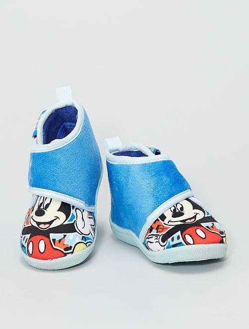 Pantofole alte 'Mickey' di 'Disney'                             blu