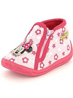 Scarpe bebé - Pantofole alte 'Minnie'