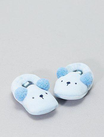 Pantofole applicazione testa di animali - Kiabi