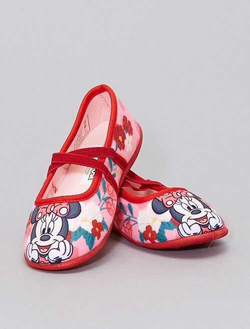 Pantofole ballerine 'Minnie'                             ROSA