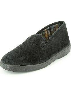 Pigiami, accappatoi - Pantofole chiuse velluto