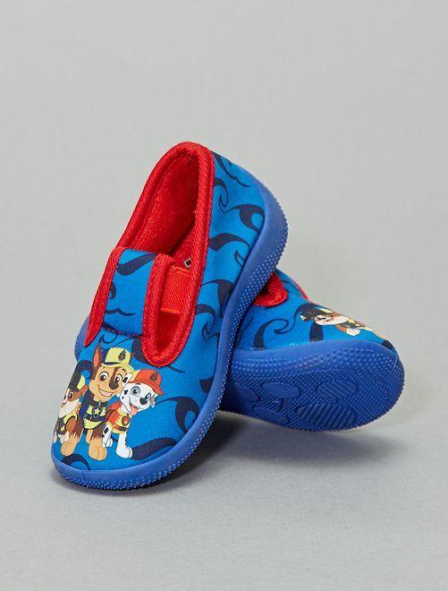 Pantofole elasticizzate 'Paw Patrol'                             blu