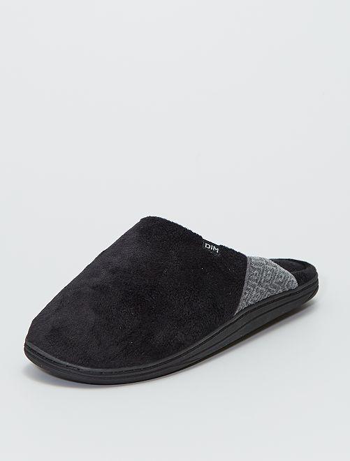 Pantofole forma mules 'DIM'                             nero