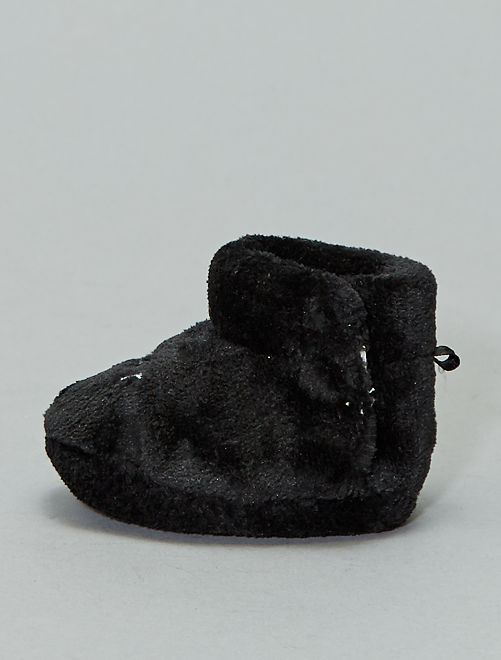 Pantofole in pile 'Disney'                                                     nero