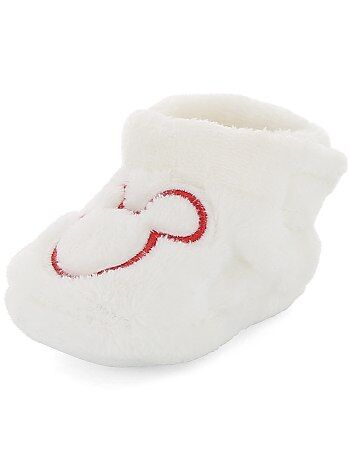 Pantofole peluche 'Topolino' - Kiabi