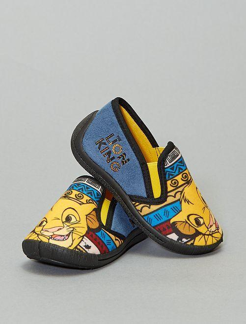 Pantofole 'Simba'                             GRIGIO