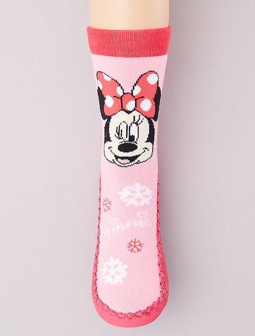 Pantofole spesse 'Minnie'                                         rosa