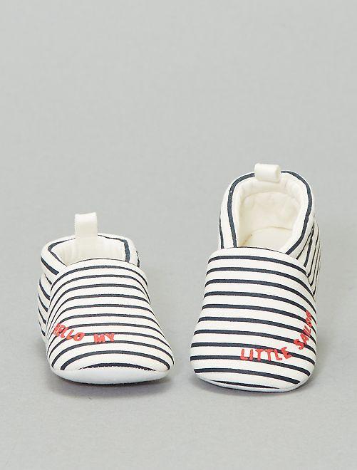 Pantofole stampate                                         BIANCO