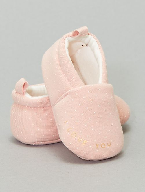 Pantofole stampate                                         ROSA