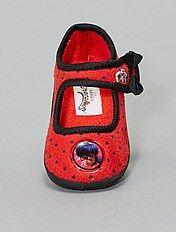 super popular 6c93f f0744 Pantofole morbide, in maglia, a strappo, con stampe Bambina ...