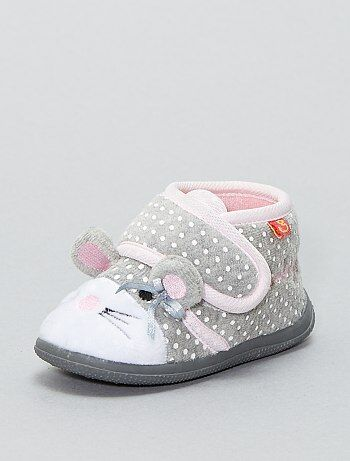 Pantofole 'topo' - Kiabi