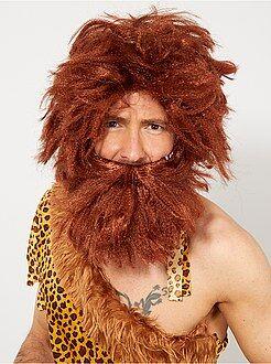 Accessori Parrucca e barba uomo Cro-Magnon