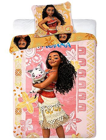 Parure da letto double face 'Vaiana' - Kiabi