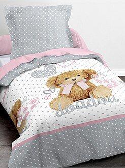 Biancheria letto per bambini - Parure da letto 'Doudou'