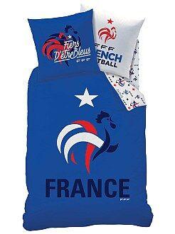 Parure da letto 'Equipe de France de foot' ('Nazionale di calcio francese')