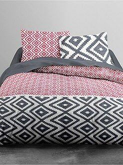 Biancheria letto per adulti - Parure da letto motivi geometrici - Kiabi