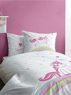 Parure letto double face 'unicorno' - Kiabi