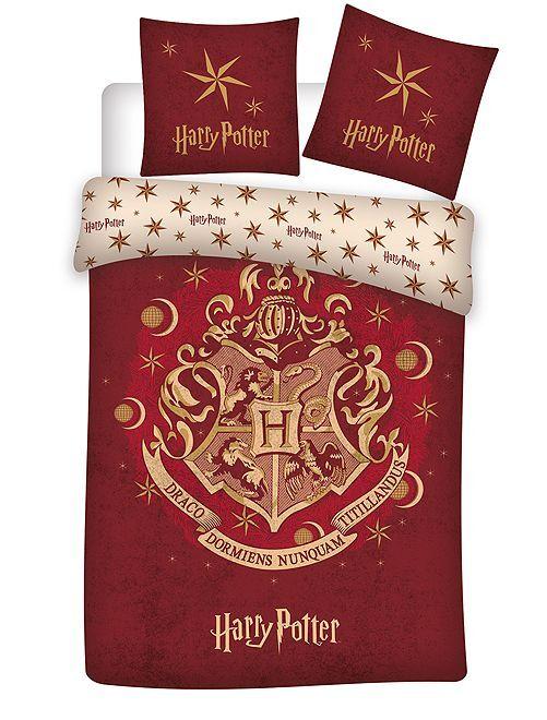 Parure letto 'Harry Potter' 1 piazza                             ROSSO