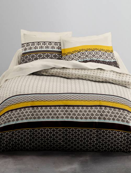 parure letto matrimoniale casa kiabi 28 00. Black Bedroom Furniture Sets. Home Design Ideas
