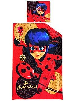 Biancheria letto per bambini - Parure letto 'Miraculous Ladybug' - Kiabi