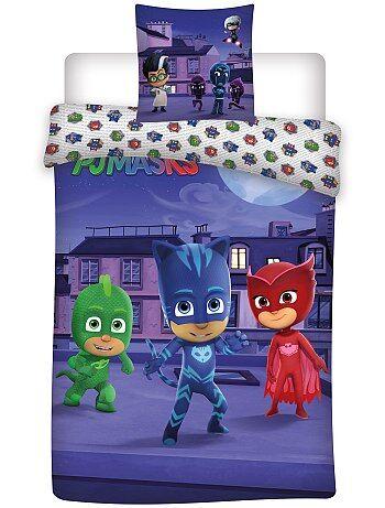 Parure letto 'PJ Masks - Super pigiamini' - Kiabi
