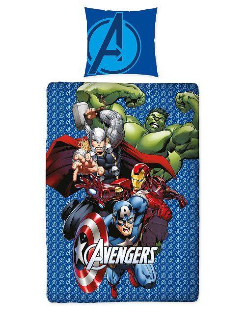 Parure letto singolo 'Avengers' 'Marvel'                             blu
