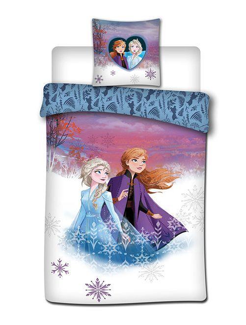 Parure letto singolo 'Frozen II'                             azzurro violetta