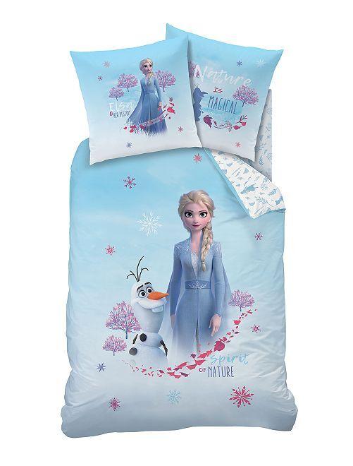 Parure letto singolo 'Frozen II'                             BLU