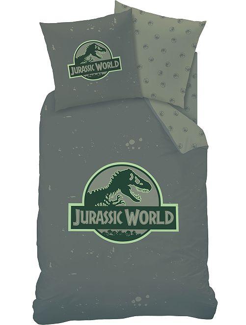 Parure letto singolo 'Jurassic World'                             KAKI