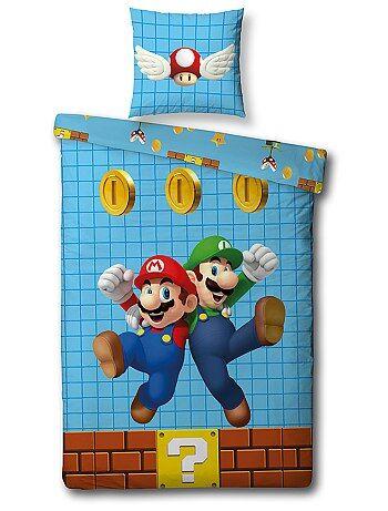 Parure letto singolo 'Super Mario' - Kiabi