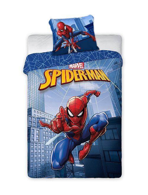 Parure letto 'Spiderman'                             blu