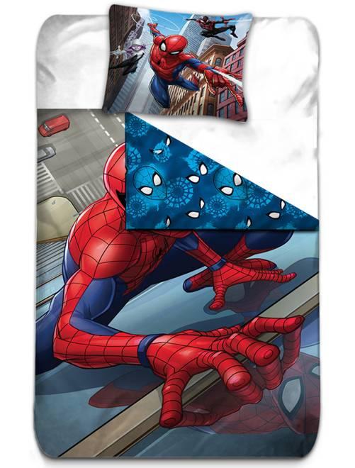Parure letto 'Spiderman'                             rosso/blu