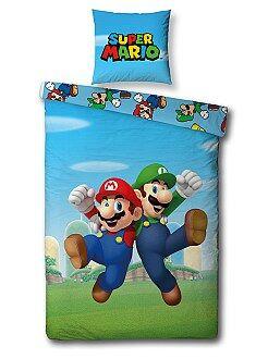 Biancheria letto per bambini - Parure letto 'Super Mario' - Kiabi