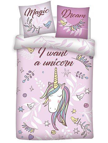 Parure letto 'unicorno' - Kiabi