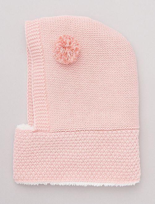 Passamontagna foderato                             rosa