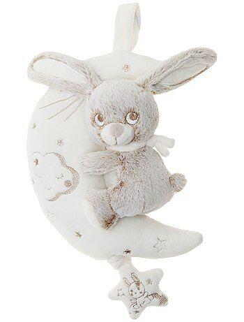 Peluche musicale 'coniglio sulla luna' - Kiabi