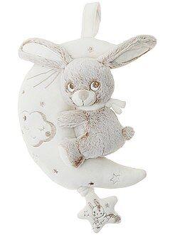 Peluche - Peluche musicale 'coniglio sulla luna' - Kiabi