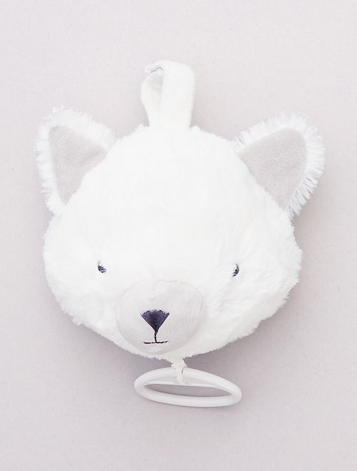 Peluche musicale 'volpe'                             BIANCO