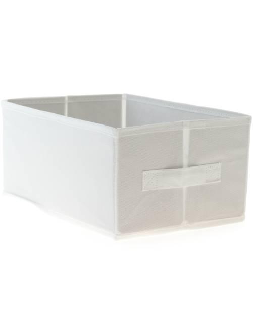 Piccola cesta pieghevole                                         bianco