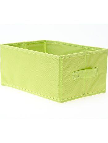 Piccola cesta pieghevole casa verde anice kiabi 3 00 for Piani di piccola casa verde