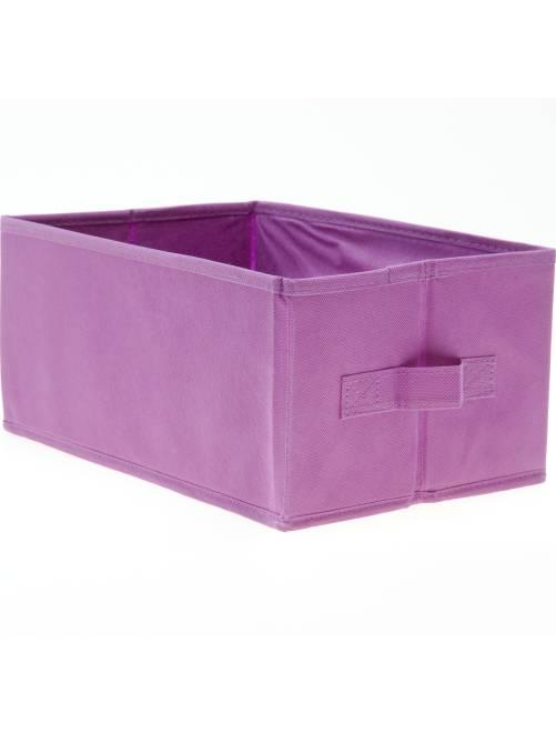 Piccola cesta pieghevole                                                                                         viola
